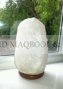 white salt lamps